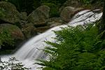 A small cascade below the bridge to Crystal Cascade