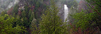 Panoramic view of Fall Creek Falls