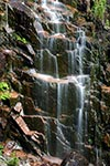 Closeup of Hadlock Falls