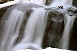 Closeup of lower falls