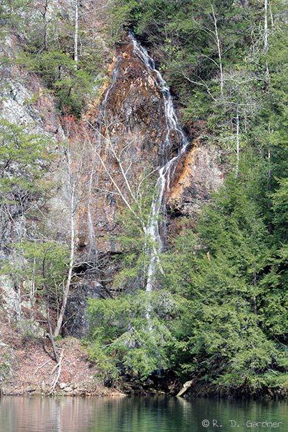 Little Laurel Branch Falls in Carter Co., TN