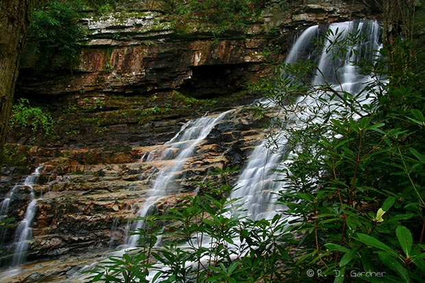 Margarette Falls in Tennessee