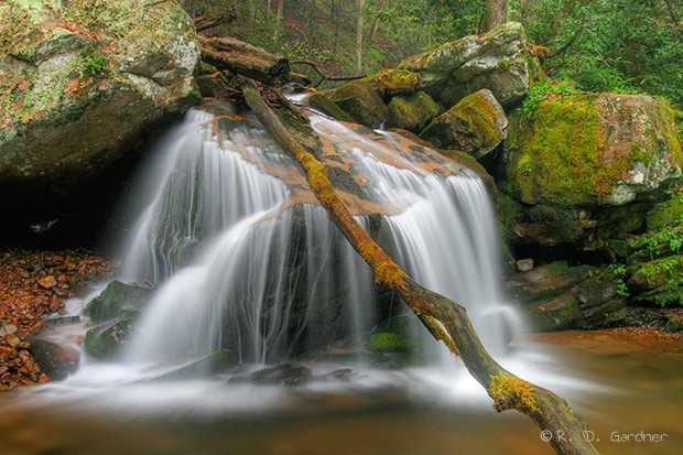 Margarette Falls near Cookeville, Tennessee