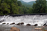 Closeup pic of Mock's Mill Falls, Damascus, VA