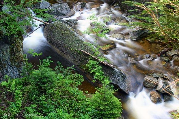 Mother Walker Falls near Bethel, Maine