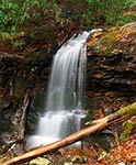 Pine Ridge Falls in Unicoi Co., TN