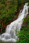 Red Fork Falls near Unicoi, Tennessee