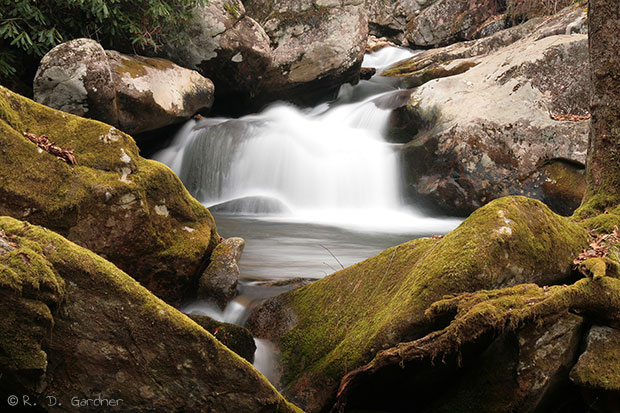 Rocky Fork Falls, Cherokee National Forest