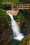 Sabbaday Falls near Waterville, New Hampshire