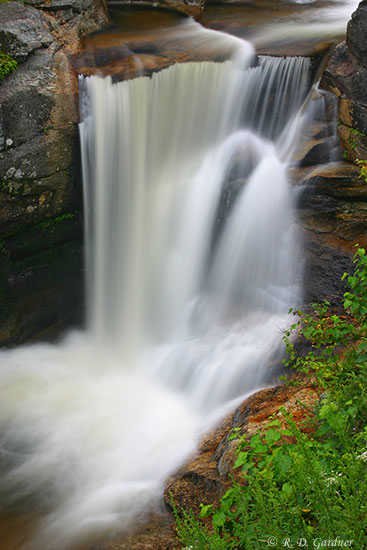 Screw Auger Falls near Bethel, Maine
