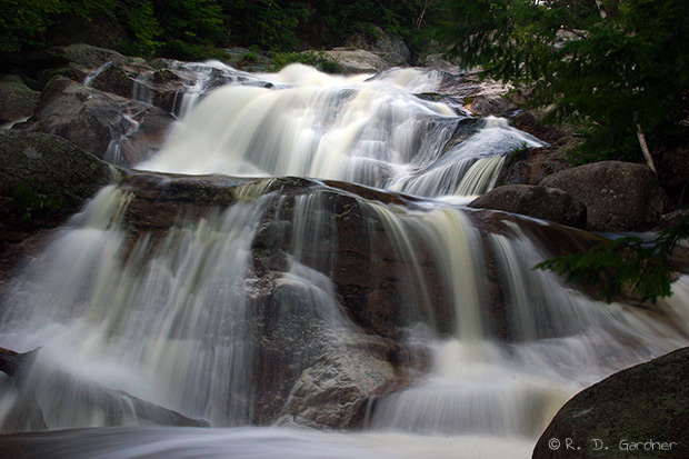 Step Falls near Newry, Maine