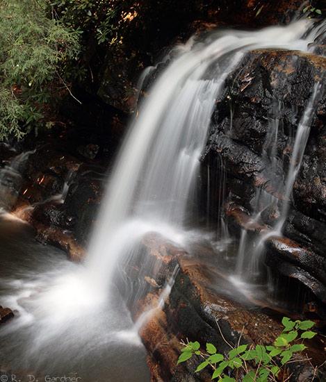 Straight Branch Falls near Damascus, VA