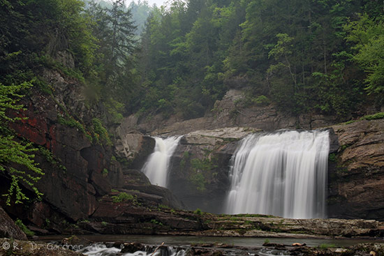 Twisting Falls, Cherokee National Forest