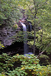 Overlook view of the Upper Falls of the Little Stoney