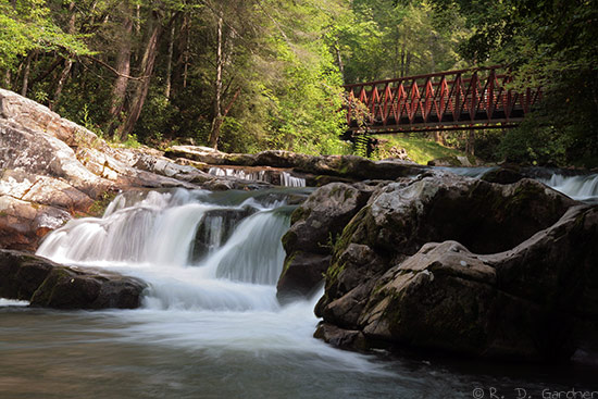 Whitetop Laurel Falls on the Virginia Creeper Trail