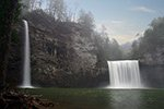 Rockhouse Falls in Tennessee