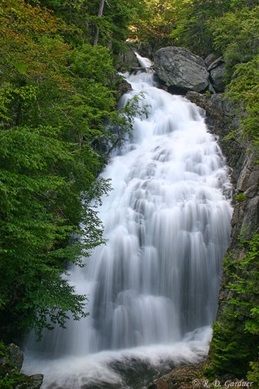 Crystal Cascade In Pinkham Notch Coos County New Hampshire