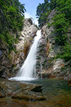 Glen Ellis Falls in the White Mountain National Forest of new Hampshire