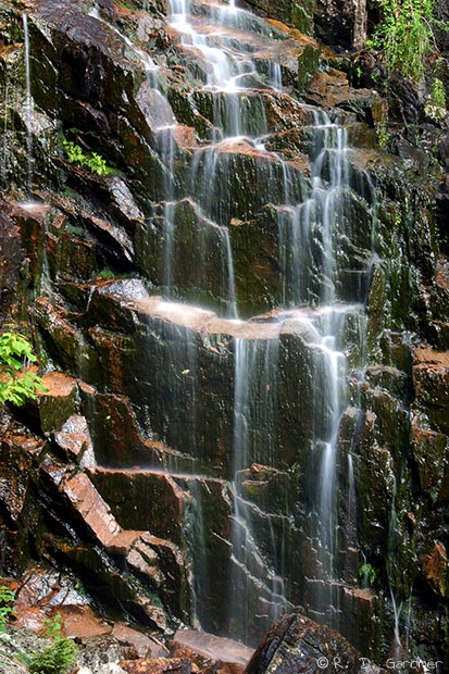 Hadlock Falls in Acadia National Park