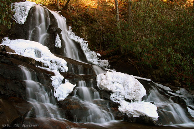 Laurel Falls in Unicoi Co., TN