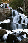Laurel Falls from the bottom