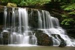 Laurel Run Falls near Church Hill, TN