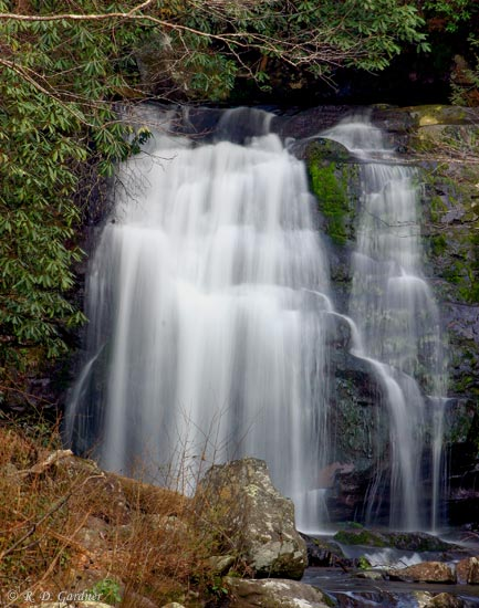 Meigs Falls in Great Smoky Mountain National Park
