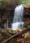 Pine Ridge Falls in the Cherokee National Forest