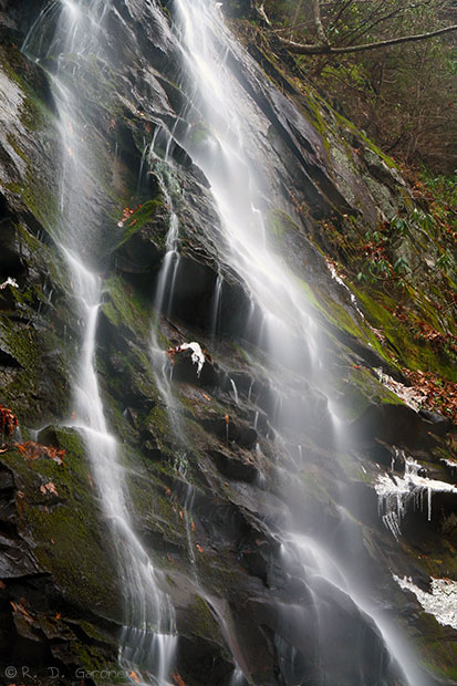 Sill Branch Falls in Unicoi Co., TN