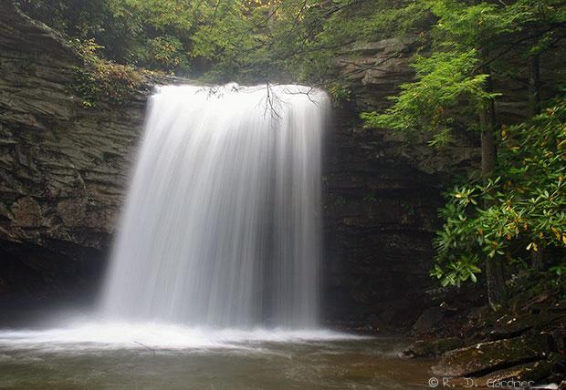 Upper Little Stoney Falls near Dungannon, VA