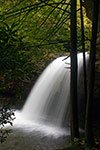 Side view of the upper falls