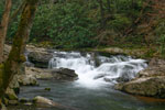 West Prong Falls in Great Smoky Mountain National Park
