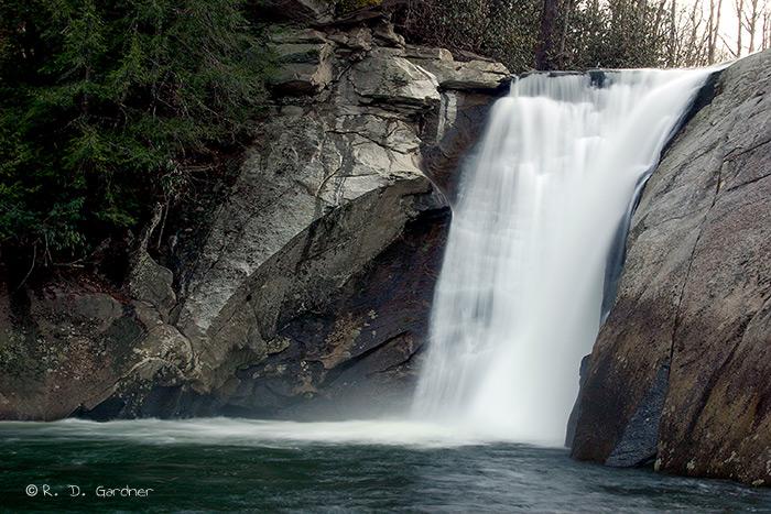 Elk Falls near Elk Park, NC