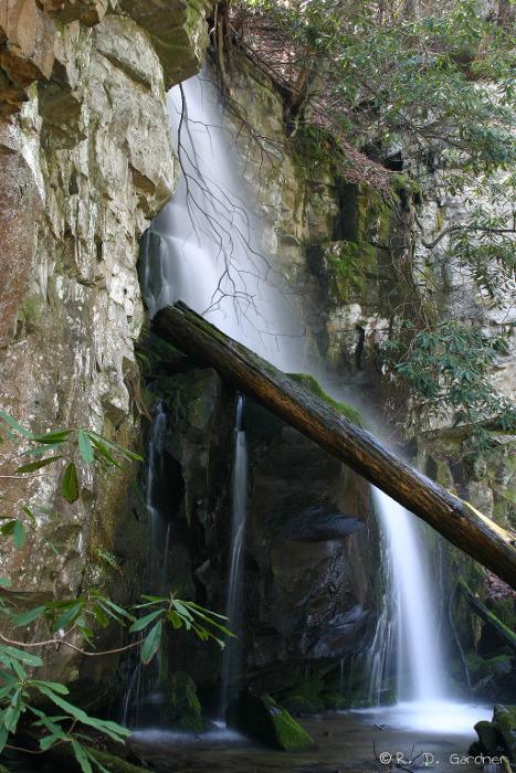 Baskins Falls in GSMNP.