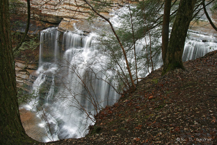 Cummins Falls in Tennessee