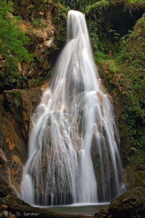 Fall Branch Falls near Damascus, VA