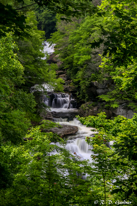 Upper Part of Cullasaja Falls