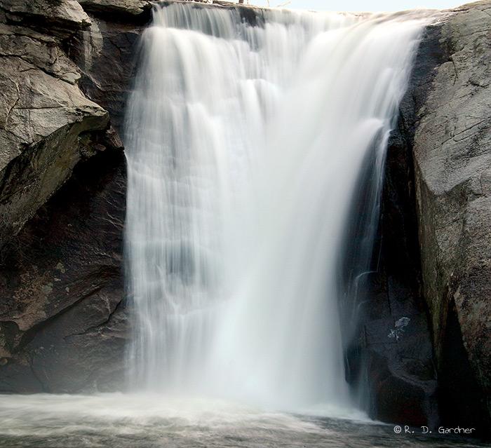 A closer view of Elk Falls