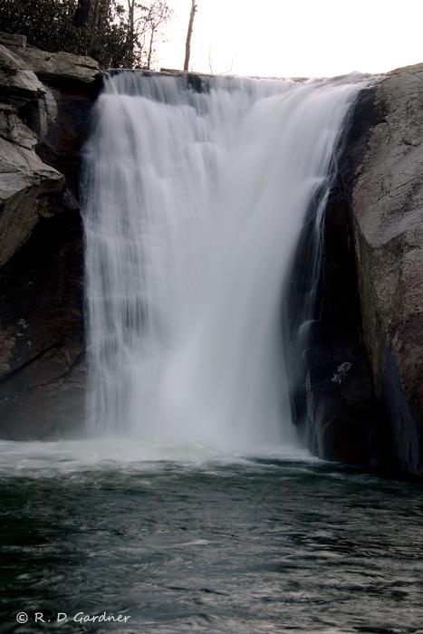 Elk Falls from mid-stream