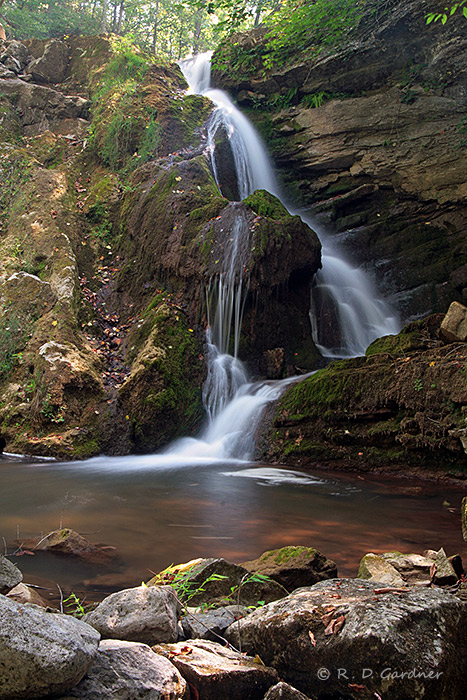 Alternate View of Fall Creek Falls in Scott Co., VA