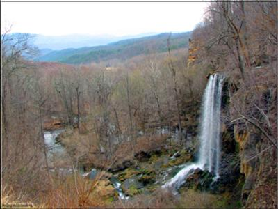 Falling Spring Falls in Winter