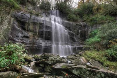 Falls Branch Falls, Cherohala Skyway