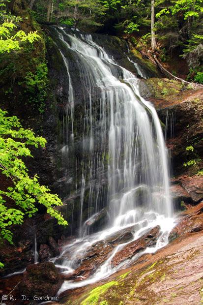 Fuller Falls near St. Martins, New Brunswick, Canada