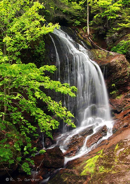 Fuller Falls, Fundy Trail Parkway