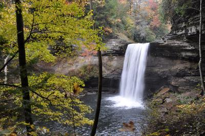 Lower Greeter Falls in October 2012