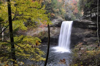 Lower Greeter Falls in October 2012