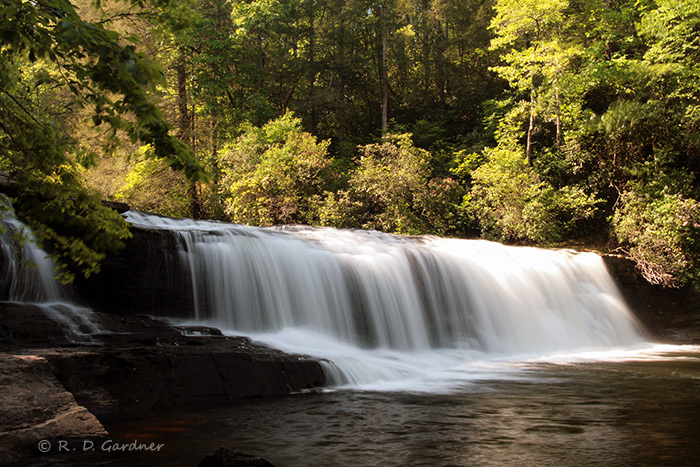 Hooker Falls in DuPont State Forest, NC