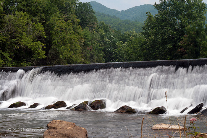 Mocks Mill Falls in Damascus, Virginia