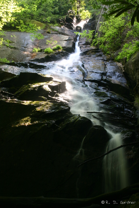 Overall View of Coon Den Falls