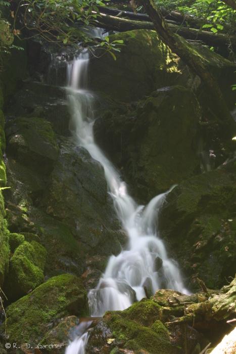 Small Waterfall below Coon Den Falls